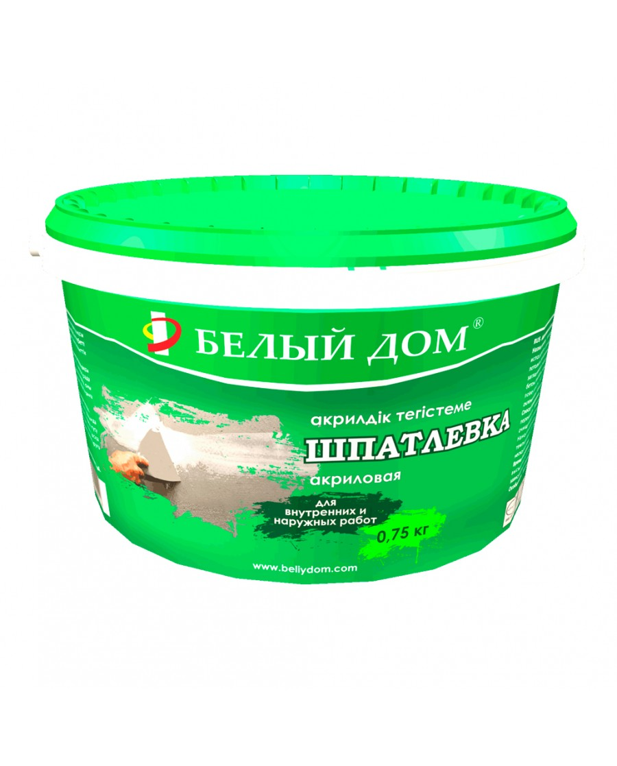 Акриловая ШПАТЛЕВКА